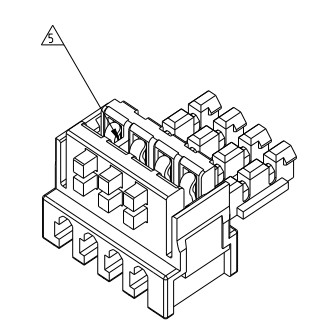 AMP连接器PCB连接器